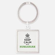 Hungarian I cant keeep calm Keychains