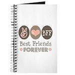 Peace Love BFF Friendship Journal