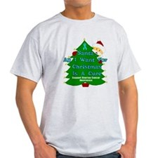 SUPPORT OVARIAN CANCER CHRISTMAS TREE T-Shirt