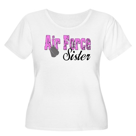 Air Force Sister Women's Plus Size Scoop Neck T-S