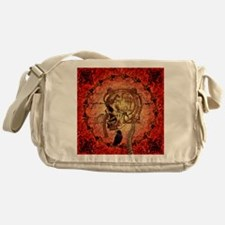 Awesome skull Messenger Bag