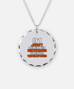 01 Just Remember Birthday De Necklace Circle Charm