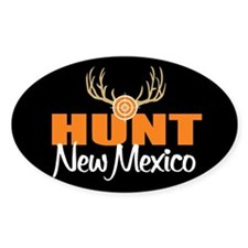 Hunt New Mexico Oval Decal