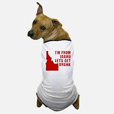 FUNNY IDAHO SHIRT DRUNK SHIRT Dog T-Shirt