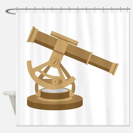 Nautical Telescope Shower Curtain