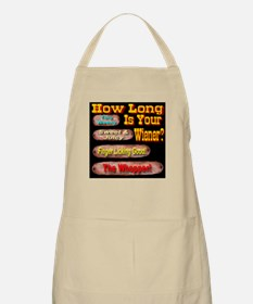 How Long Is Your Wiener? BBQ Apron