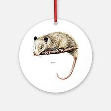 Opossum Possum Ornament (Round)