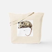 Opossum Possum Tote Bag