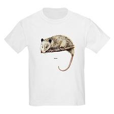 Opossum Possum (Front) Kids T-Shirt