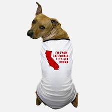 FUNNY CALIFORNIA SHIRT CALIFO Dog T-Shirt