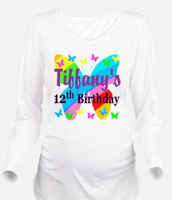PERSONALIZED 12TH Long Sleeve Maternity T-Shirt