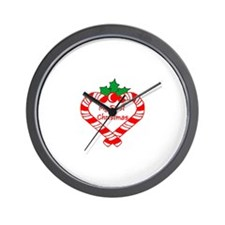 My First Christmas Wall Clock
