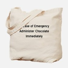 Chocolate Emergency Tote Bag