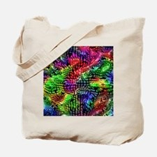 Unique Rainbow abstract Tote Bag