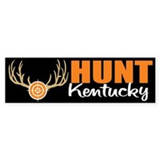 Hunt Kentucky Bumper Bumper Sticker