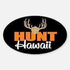 Hunt Hawaii Oval Decal