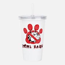 rebel paws Acrylic Double-wall Tumbler