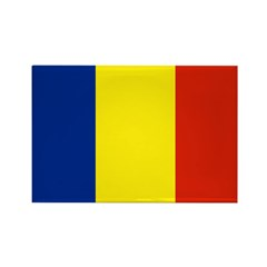 Romania Rectangle Magnet (10 pack)