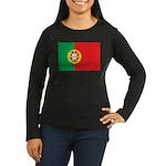 Portugal Women's Long Sleeve Dark T-Shirt