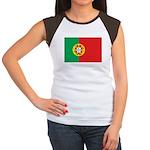 Portugal Women's Cap Sleeve T-Shirt