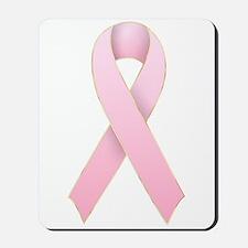 Pink Ribbon 1 Mousepad