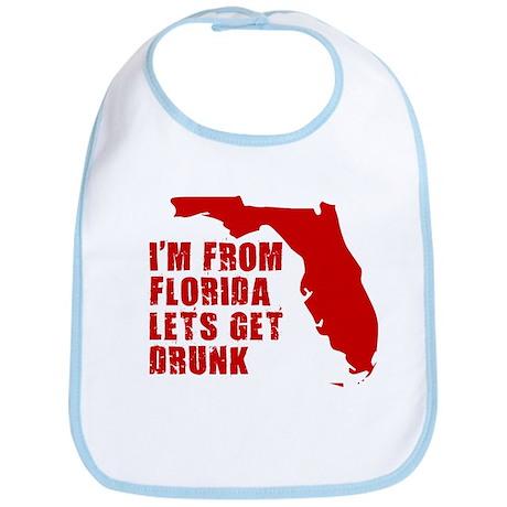 FUNNY FLORIDA SHIRT FLORIDA S Bib