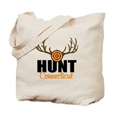 Hunt Connecticut Tote Bag