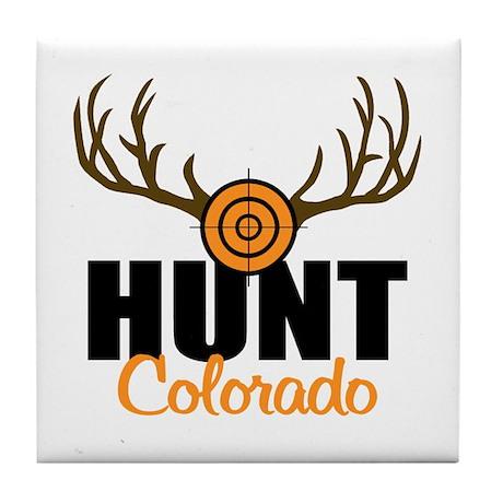 Hunt Colorado Tile Coaster