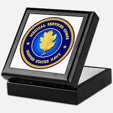 Navy Medical Services Keepsake Box