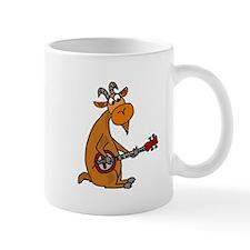 Goat Playing Banjo Mugs