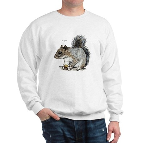 Gray Squirrel (Front) Sweatshirt