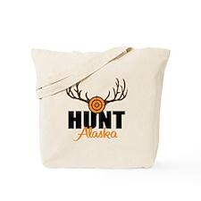 Hunt Alaska Tote Bag