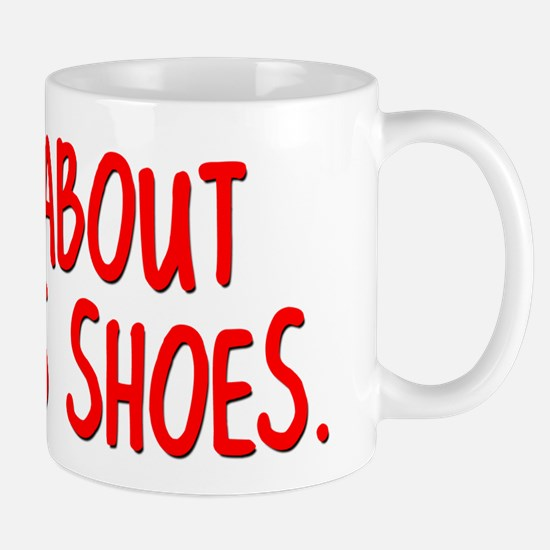 Ask Me About TOMS Shoes Mug
