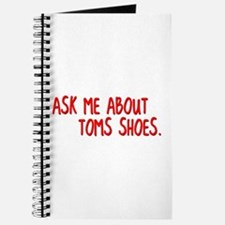 Ask Me About TOMS Shoes Journal
