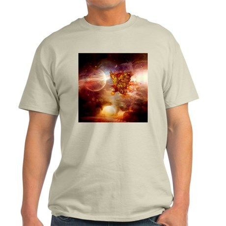 Awesome fire eagle in the universe T-Shirt