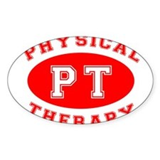 Athletic PT - Oval Decal
