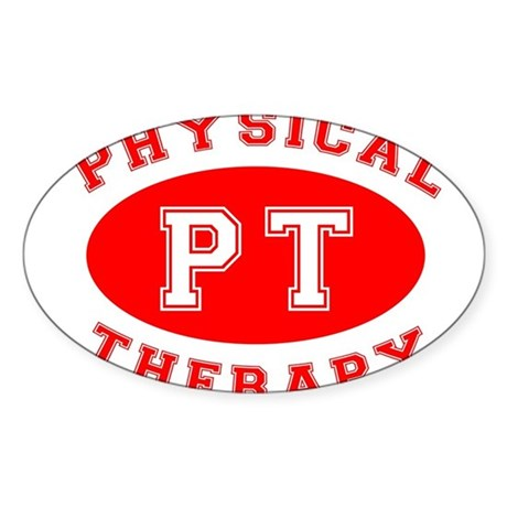 Athletic PT - Oval Sticker