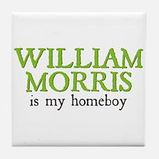 William Morris is my Homeboy Tile Coaster