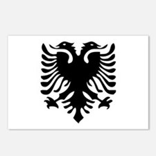 Albanian Eagle Postcards (Package of 8)