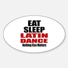 Eat Sleep Latin Dance Decal