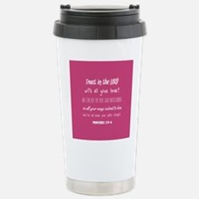 Bible Verse Gifts Prove Travel Mug