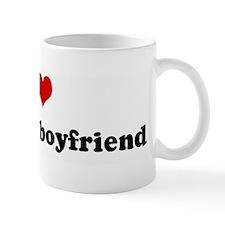 I Love my mom's boyfriend Mug