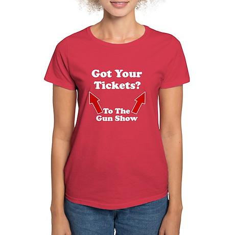 Got your tickets to the gun s Women's Dark T-Shirt
