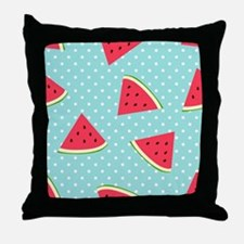 Cute Watermelons Throw Pillow