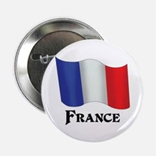 """Flag of France 2.25"""" Button"""