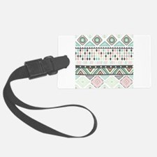 Native Pattern Luggage Tag