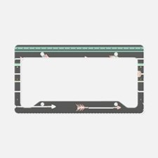 Native American Feather Licence Plate Frames Native