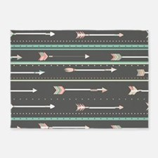 Arrows 5'x7'Area Rug