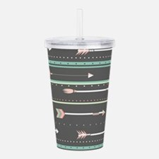 Arrows Acrylic Double-wall Tumbler