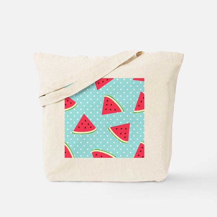 Cute Watermelon seed Tote Bag